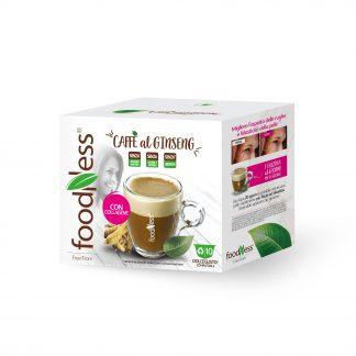 Caffè al ginseng con collagene