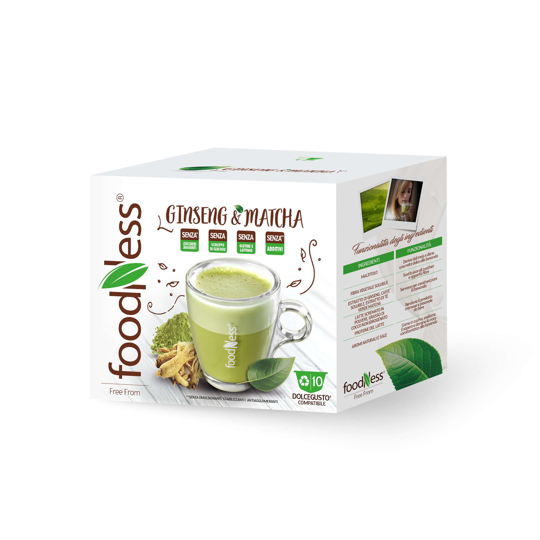 Ginseng Matcha Dolce Gusto Compatible Foodness Shop
