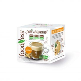 Caffè al ginseng classico compatibile Lavazza A modo mio